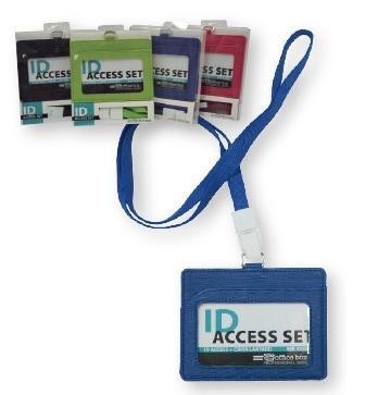 SET IDENTIFICADORES ID ACCESS. + CINTA LANYARD EN SIMIL PIEL.