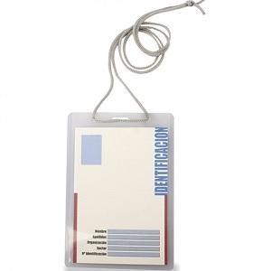 IDENTIFICADOR CON CORDON 93X132 NATURAL EN GLASPACK