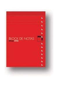 BLOC DE NOTAS GRAPADO PACSA 4? CON TAPA LISO
