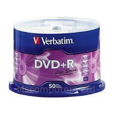 PACK 50 DVD-R VERBATIM